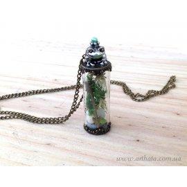 Кулон мини-бутылочка Заветная мечта